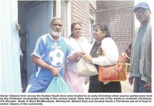 senior citizens-durban south area